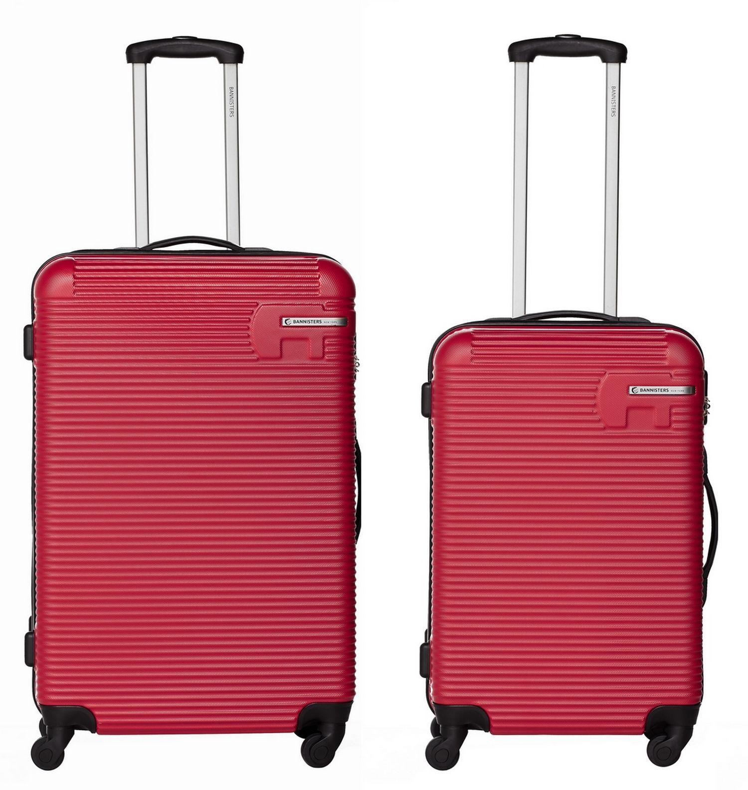Bannisters-Hartschalenkoffer-aus-ABS-2er-Set-Reisekoffer-Zahlenschloss-Koffer